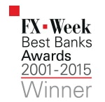 Tullett Prebon Best Banks Awards 2001-2015