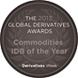 Tullett Prebon 2013 Global Derivatives Commodities IDB of the Year winner logo